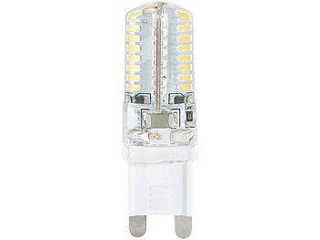 High-Power LED-Stiftsockel, Silikon-Hülle, G9, 3 Watt, 180 Lumen, weiß