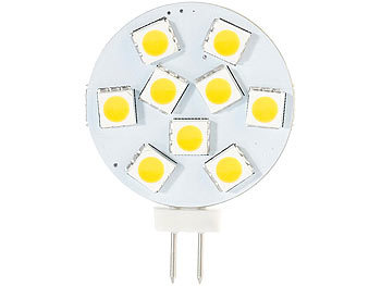 High-Power G4-LED-Stiftsockel, SMD5050-LEDs, Bi-Pin, 1,8 W, warmweiß