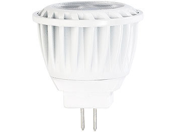 LED-Spot, GU4, MR11, 3,5 W, 12 V, warmweiß, 2.700 K, 200 lm