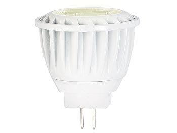 LED-Spot, GU4, MR11, 3,5 W, 12 V, warmweiß, 2.700 K, 200 lm