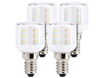 Mini-LED-Kolben, E14, A++, 3W, 360°, 260 lm, warmweiß, 4er-Set