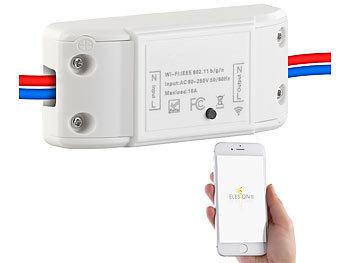 WLAN-Schalter für Licht & Co., für Siri, Alexa & Google Assistant, 10A