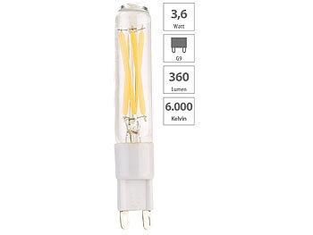LED-Filament-Stiftsockellampe G9, 3,6 W, 360 lm, tageslichtweiß, A++