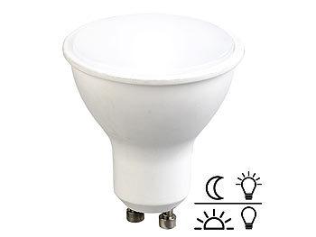 LED-Spot GU10 mit Lichtsensor, weiß 4000 K, 5 Watt, 300 Lumen