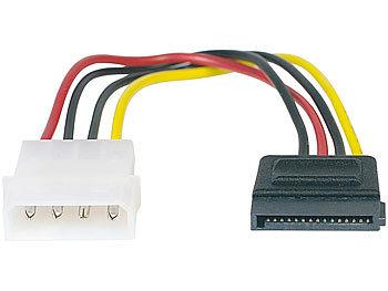 Festplatten-Stromanschlusskabel SATA auf 4-Pin-Molex