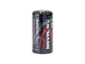 Foto-Lithium-Batterie CR123A, 3 V, im 2er-Sparpack