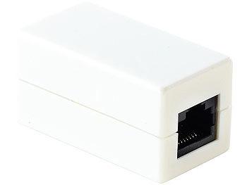 Kupplung für Netzwerkkabel 2xRJ45 Buchse 10/100 Mbit