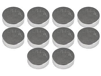 1,5-Volt-Knopfzellen LR44/AG13 Alkaline im 10er-Sparpack