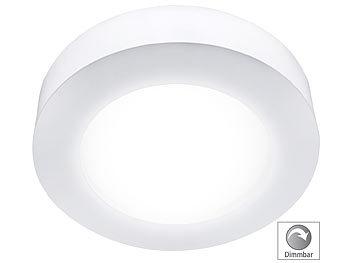LED-Ein-/Unterbau-Panel, rund, dimmbar, weiß, 11 Watt, 760 Lumen