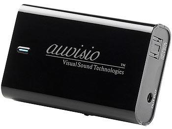AirMusic-Empfänger für Musik-Streaming, mit Klinken- & Toslink-Ausgang