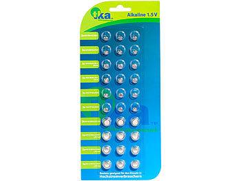 Knopfzellen, 30er-Sparpaket,LR41/ LR43/ LR44/ LR621/ LR626/ LR1130