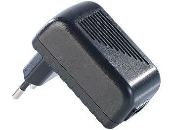 Reisefreundliches USB-Netzteil 110 - 240 Volt 1000 mA Ladestrom