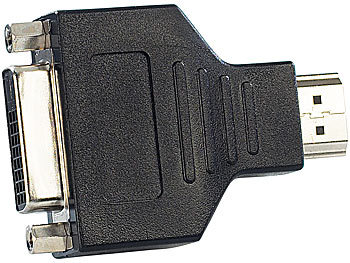 Display-Adapter DVI-D-Buchse auf HDMI-A-Stecker