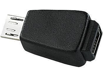 USB Adapter Mini-USB-Buchse auf Micro-USB-Stecker