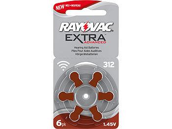 Hörgeräte-Batterien 312 Extra Advanced 1,45V 180 mAh 6er-Pack