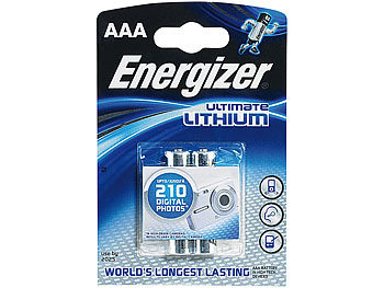 Ultimate Lithium-Batterie AAA Micro 1,5 Volt im 2er-Pack