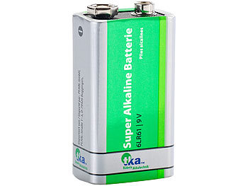 Superlife 9V-Block Alkaline-Batterie