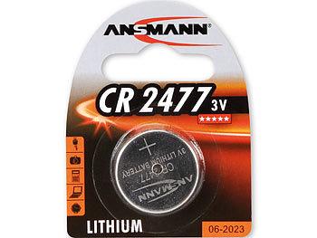 Lithium-Knopfzelle CR-2477, 3 V