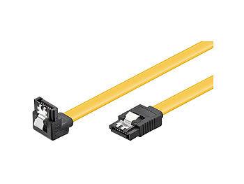 HDD/SSD SATA  Kabel 1,5/3,0/6,0 GBit/s (SATA L-Type > L-Type 90°) 0,5m