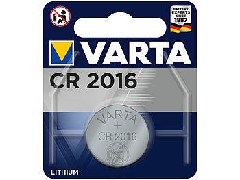 Electronics Lithium-Knopfzelle, CR2016, 87 mAh, 3 Volt