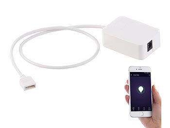 WLAN-Controller (Serie LAK/LAM), Amazon Alexa & Google Assistant komp.