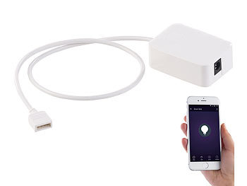 WLAN-Controller (LED Serie LAT), Amazon Alexa & Google Assistant komp.