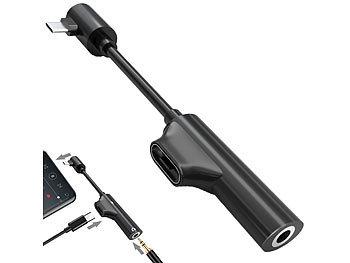 Kopfhörer-Adapter USB-C auf 3,5-mm-Klinke mit Anruf- & Ladefunktion